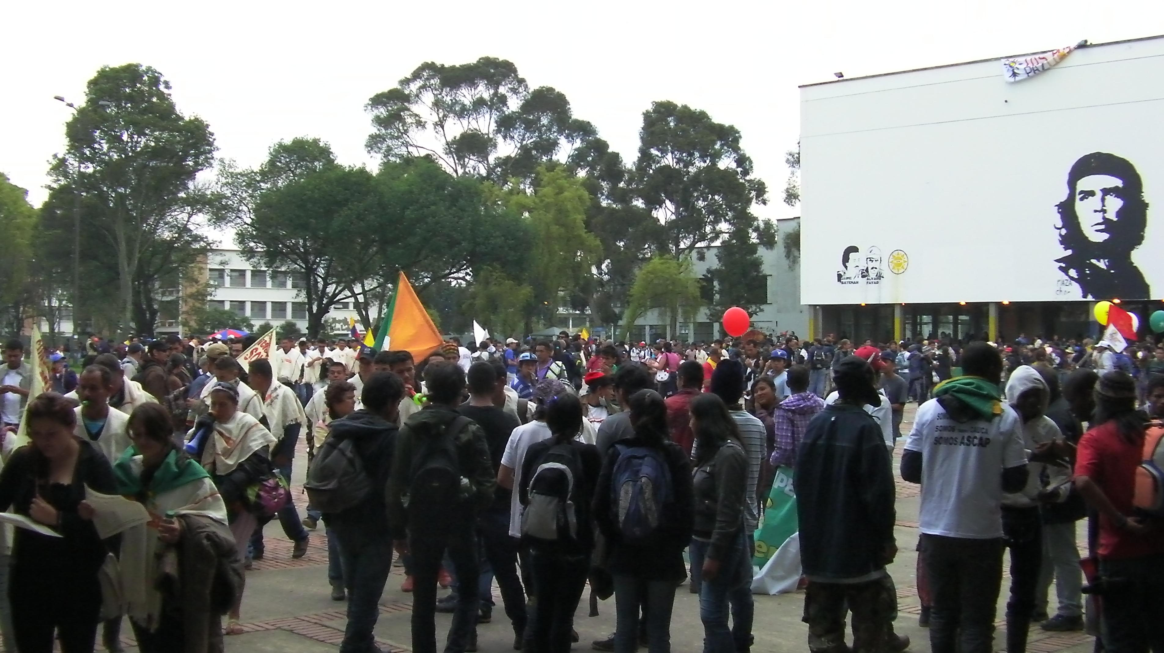 'Congress for Peace' in Bogotá demands economic and social justice